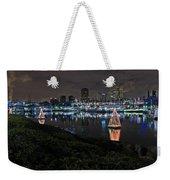 Long Beach Lights Weekender Tote Bag
