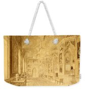 Long Gallery At Strawberry Hill Weekender Tote Bag