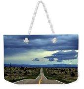 Long Highway Weekender Tote Bag