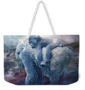 Silverback Gorilla - Long Journey Home Weekender Tote Bag