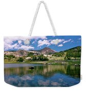 Long Lake Beartooth Pass Weekender Tote Bag