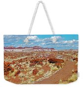 Long Logs Trail In Rainbow Forest In Petrified Forest National Park-arizona  Weekender Tote Bag