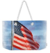 Long May She Wave Weekender Tote Bag by Kerri Farley