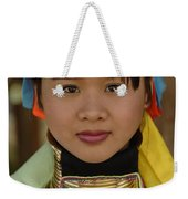 Long Necked Woman Of Thailand Weekender Tote Bag