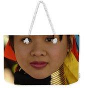 Long Necked Woman Thailand 4 Weekender Tote Bag