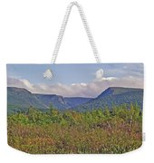 Long Range Mountains In Western Nl Weekender Tote Bag
