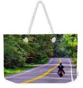 Long Ride Weekender Tote Bag