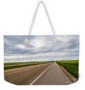 Road To The Sky In Saskatchewan. Weekender Tote Bag
