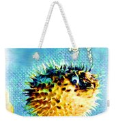 Long-spine Fish Weekender Tote Bag
