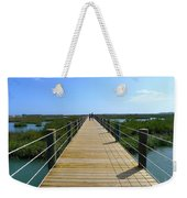 Long St. Augustine Marsh Dock Weekender Tote Bag