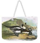 Long Tailed Duck Weekender Tote Bag