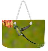 Long-tailed Sylph Weekender Tote Bag