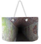 long tunnel in Ft Adams Weekender Tote Bag
