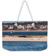 long view of Brant point lighthouse Weekender Tote Bag