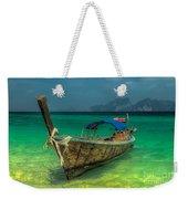 Longboat Weekender Tote Bag by Adrian Evans