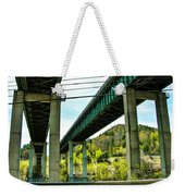 Longest Bridges In Vermont Weekender Tote Bag