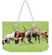 Longhorn Cattle Weekender Tote Bag