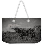 Longhorn Of Bandera Weekender Tote Bag