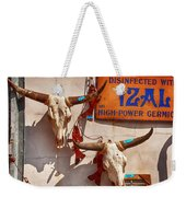 Longhorn Skulls On The Wall Weekender Tote Bag