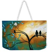 Longing By Madart Weekender Tote Bag