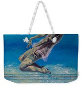 Longing From The Depths Weekender Tote Bag by Dorina  Costras