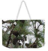 Longleaf Pine Cones Weekender Tote Bag