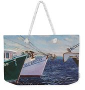 Longliners Achor To Anchor Weekender Tote Bag
