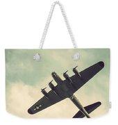 Look Up Vintage B-17 Flying Fortress Weekender Tote Bag