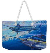 Lookers Off0019 Weekender Tote Bag by Carey Chen