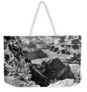 Looking Down On Grand Canyon Weekender Tote Bag