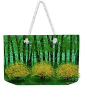 Lookin' Out My Back Door Weekender Tote Bag