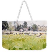 Looking Across Christ Church Meadows Weekender Tote Bag