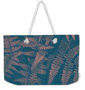 Looking At Ferns Another Way Weekender Tote Bag