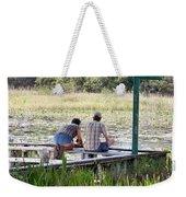 Looking At The Marsh Weekender Tote Bag