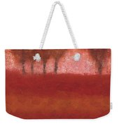 Looking At The World Through Rose Colored Lenses Weekender Tote Bag