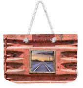 Looking Back Panorama Weekender Tote Bag