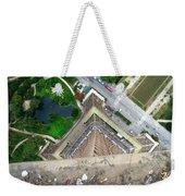 Looking Down From The Eiffel Tower Weekender Tote Bag