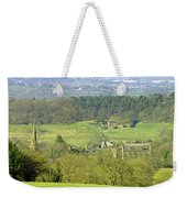 Looking Down On Cotton From Ribdon Weekender Tote Bag