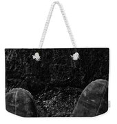 Looking Down On Space Weekender Tote Bag