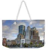 Looking Downtown Weekender Tote Bag