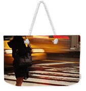 Looking For A Taxi - Rush Hour New York Weekender Tote Bag