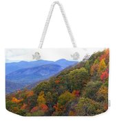 Looking Glass Rock And Fall Colors Weekender Tote Bag