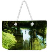 Looking Green And Serene Weekender Tote Bag