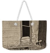 Looking In Bw Weekender Tote Bag
