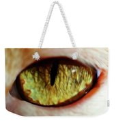 Looking Into The Soul Weekender Tote Bag