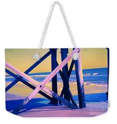 looking On - Neon Weekender Tote Bag