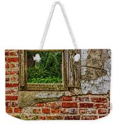 Looking Out At Darien Weekender Tote Bag