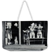 Looking Out The Shoppe Weekender Tote Bag