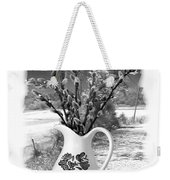 Looking Out The Window Weekender Tote Bag
