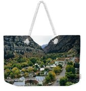 Looking Over Ouray From The Sutton Mine Trail Circa 1955 Weekender Tote Bag